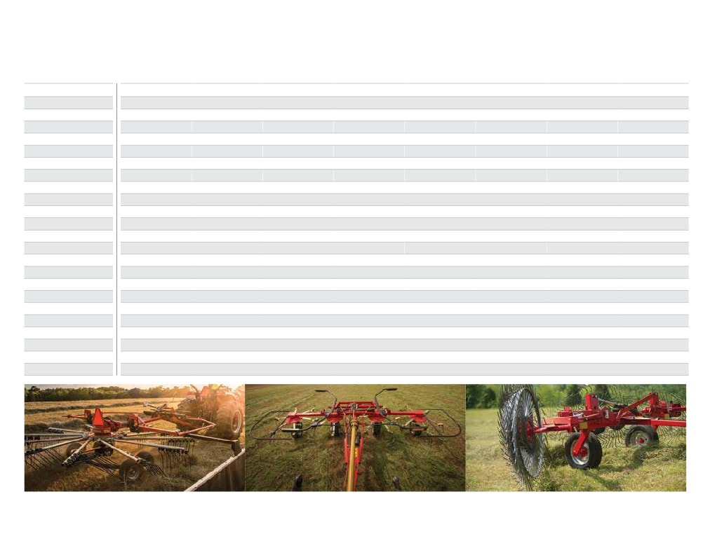 Conventional Hay Tools FROM MASSEY FERGUSON A world